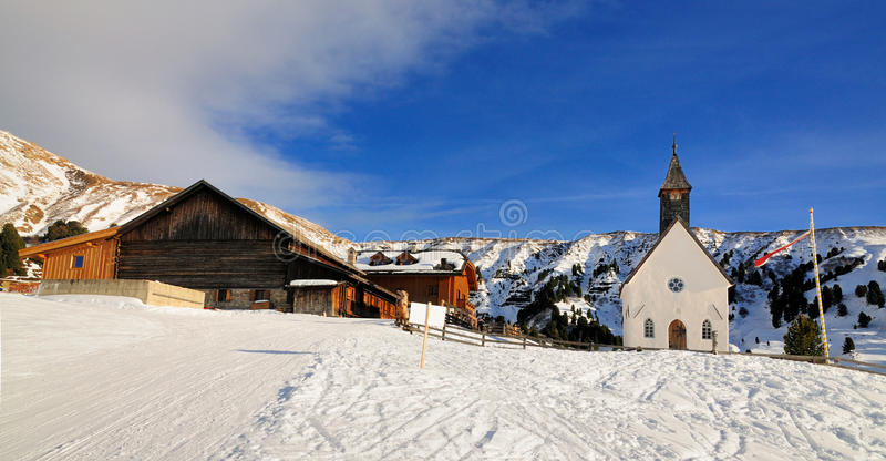 Гамлет в Südtirol, Италия стоковая фотография