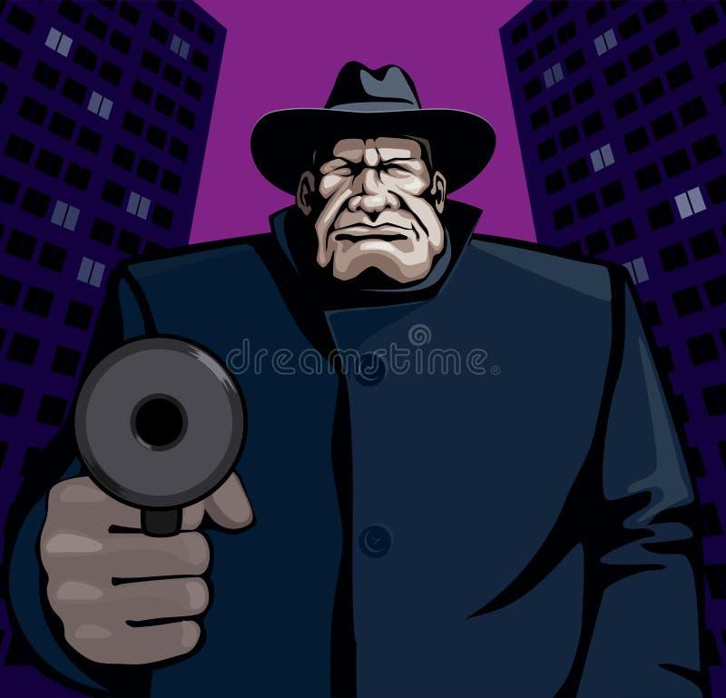 гангстер бесплатная иллюстрация