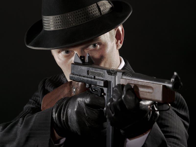 гангстер chicago любит стоковое изображение