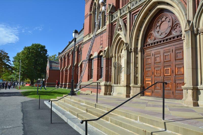 Гарвард мемориальный Hall стоковые изображения rf