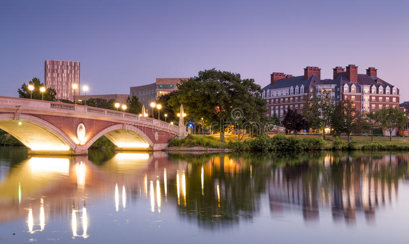 Гарвардский университет стоковые фото