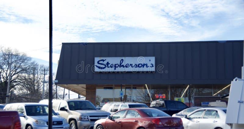Гастроном Stepherson, Мемфис, TN стоковая фотография