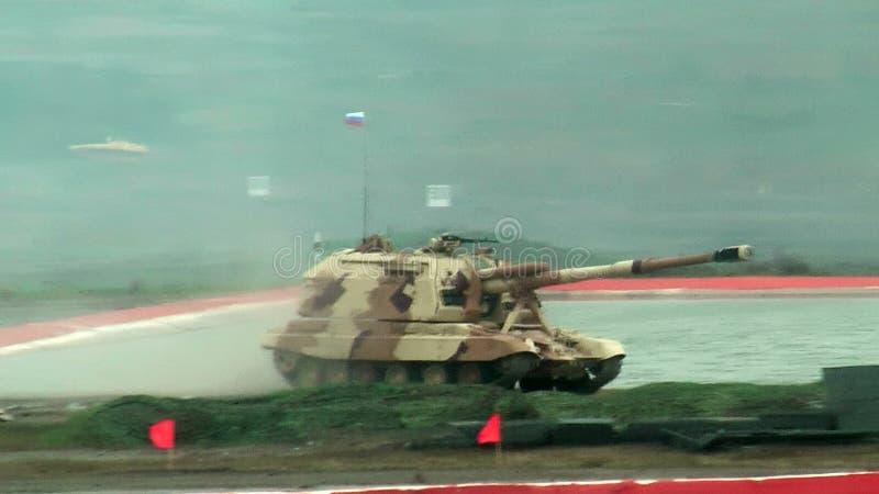 Гаубица 2S19M2 Msta-S 152 mm Россия видеоматериал