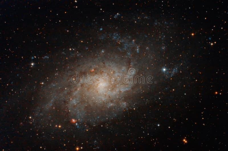 Галактика в ночном небе стоковое фото