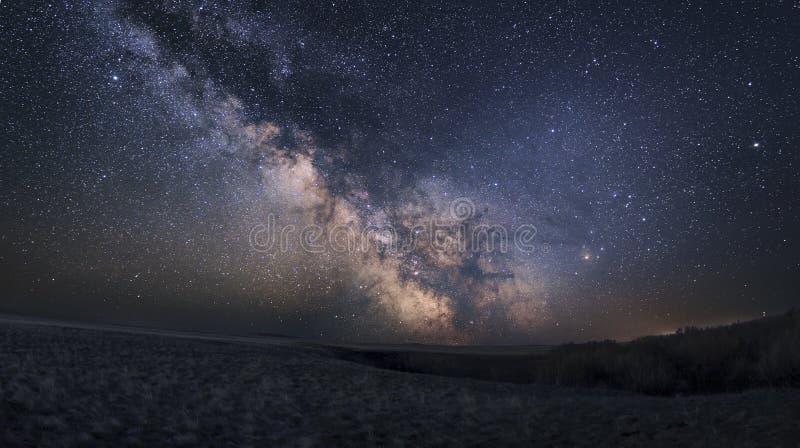 Галактика млечного пути стоковое изображение rf