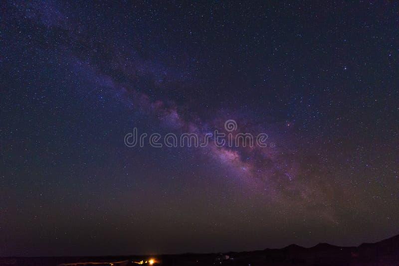 Галактика неба млечного пути стоковые фото