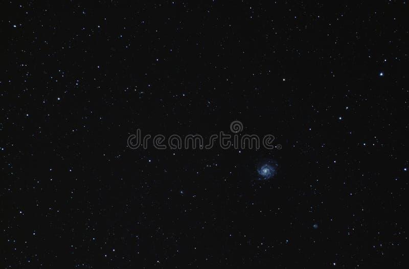 Галактика Pinwheel M101 стоковое фото rf