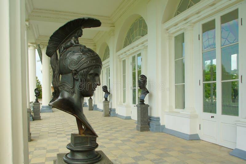Галерея Камерона в Tsarskoye Selo стоковые изображения