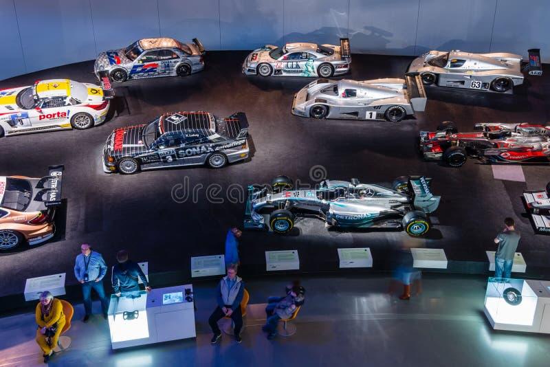 Галерея спорт и гоночные автомобили различных классов стоковые изображения rf