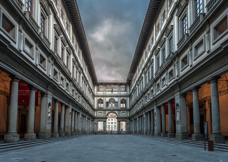 Галерея Uffizi стоковое фото rf