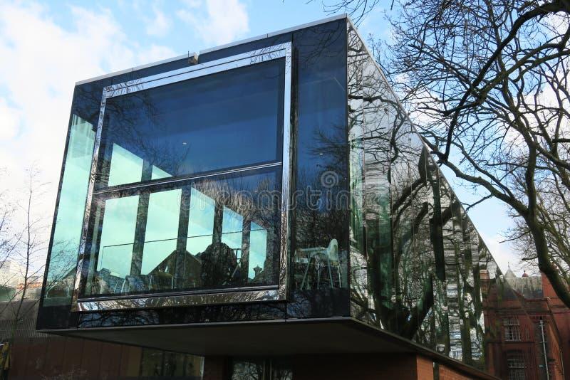 Галерея Whitworth, Манчестер стоковое фото