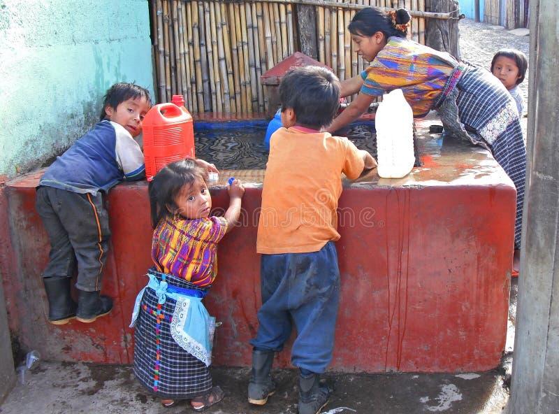 Гватемала washday стоковые фотографии rf
