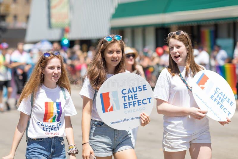 Гей-парад 2018 LGBTQ стоковые фотографии rf