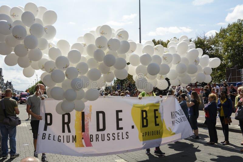 Гей-парад 2014 Антверпена стоковые изображения
