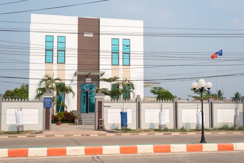 Генеральное консульство Вьетнама в Savannakhet, Лаосе стоковые фотографии rf