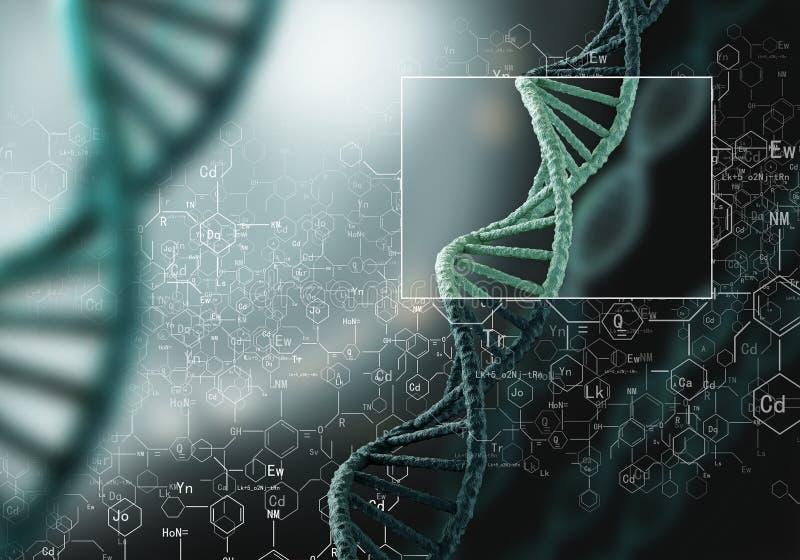 Генетические исследования биотехнологии стоковые фото