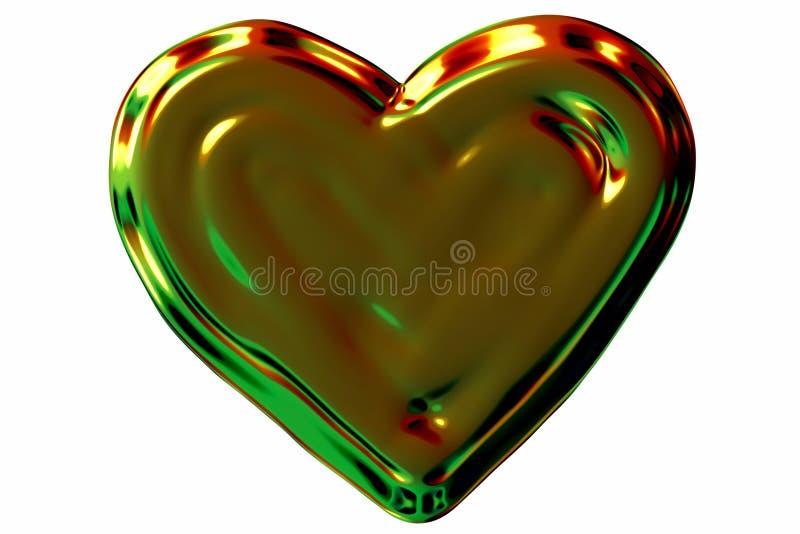 гениальное сердце иллюстрация штока