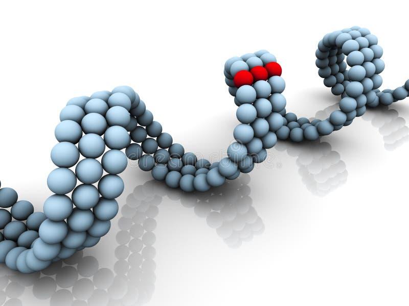 ген дна иллюстрация штока