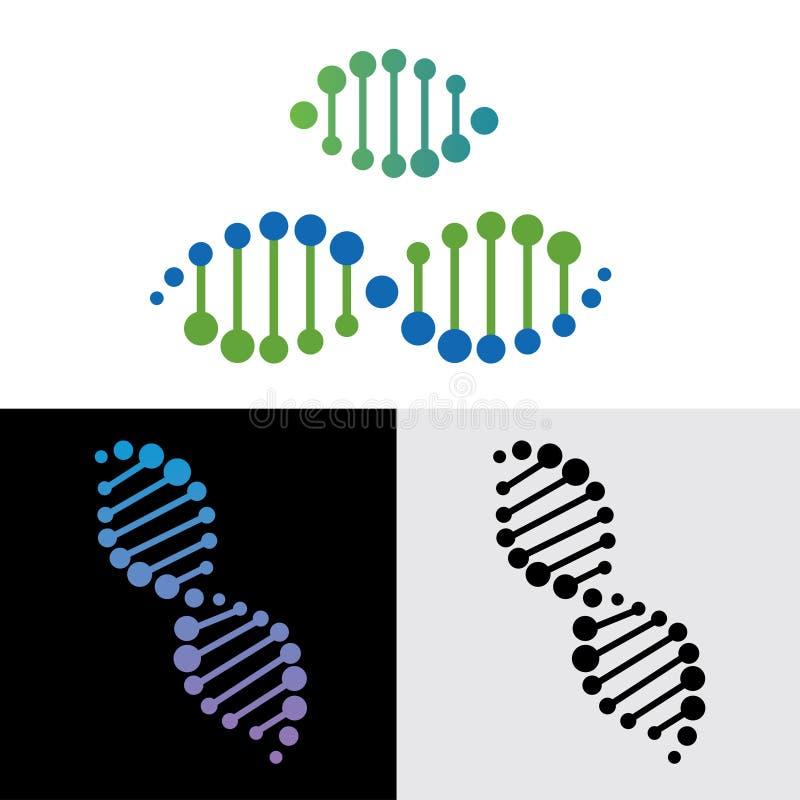 Ген дна иллюстрация вектора