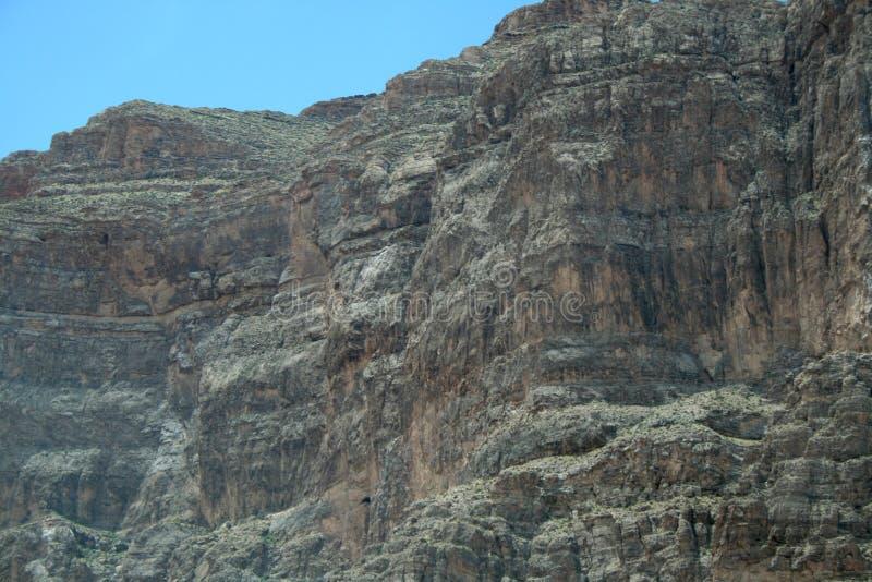 Геологохимическая структура в Неваде Каньон стоковая фотография