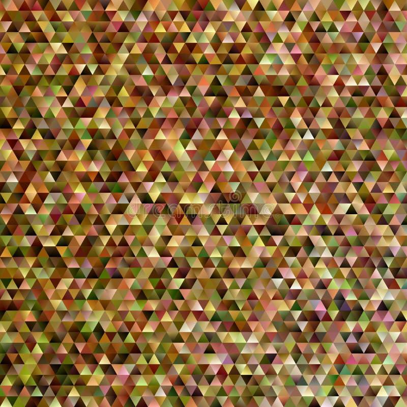 Геометрическая абстрактная предпосылка мозаики треугольника - дизайн векторной графики градиента иллюстрация штока