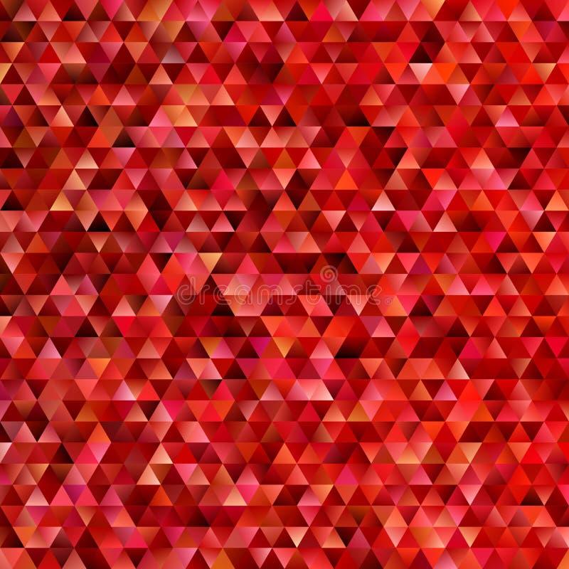 Геометрическая абстрактная регулярн предпосылка мозаики треугольника - векторная графика полигона градиента иллюстрация штока