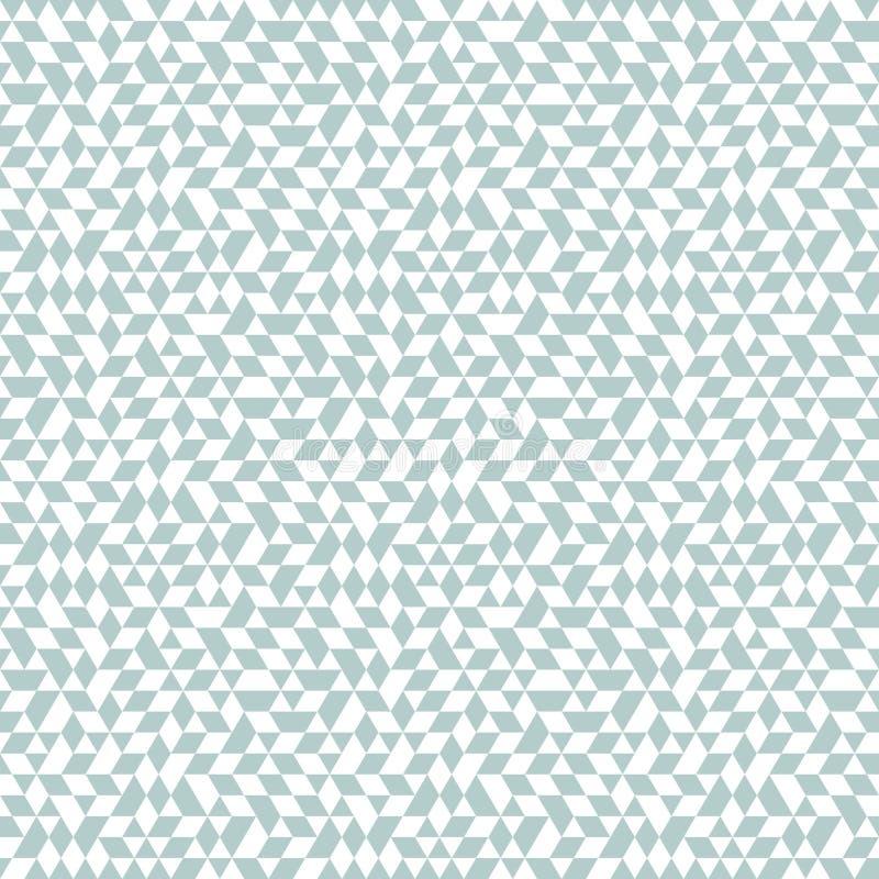 Геометрическая безшовная картина вектора бесплатная иллюстрация