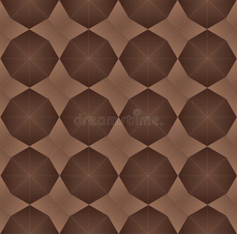Геометрическая безшовная картина, которая имитирует паркетные полы бесплатная иллюстрация