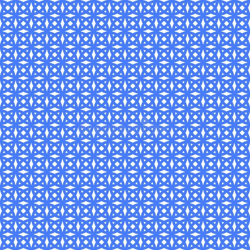 Геометрическая безшовная картина орнамента Предпосылка вектора иллюстрация вектора