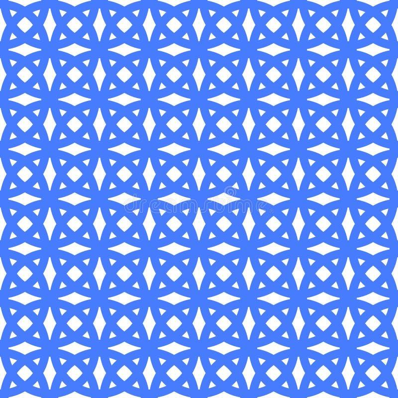 Геометрическая безшовная картина орнамента Предпосылка вектора иллюстрация штока
