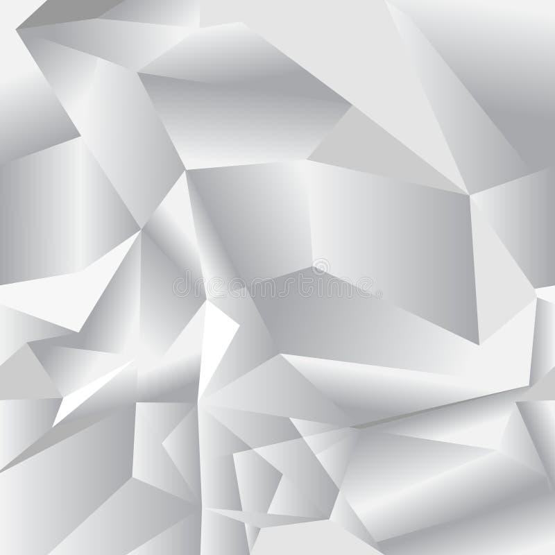 Геометрическая безшовная картина от треугольников : иллюстрация штока
