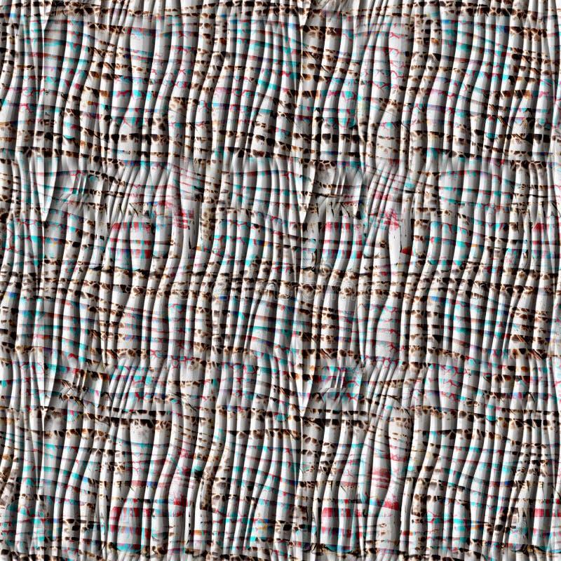 Геометрическая безшовная картина с косоугольниками стоковые изображения rf