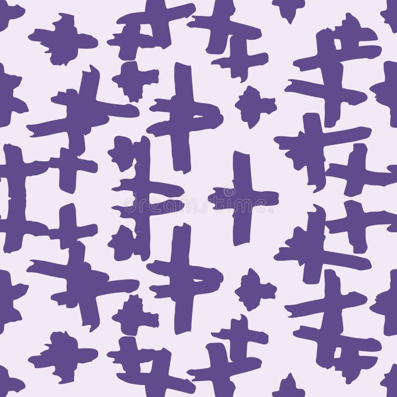 геометрическая безшовная текстура иллюстрация вектора