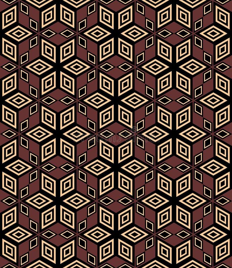 геометрическая картина безшовная иллюстрация штока