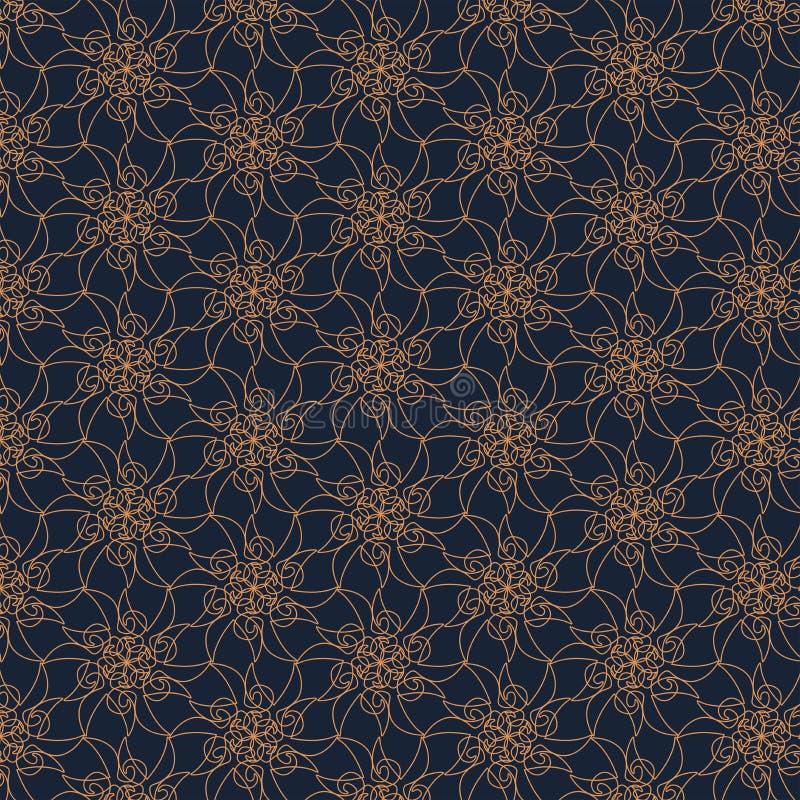 Геометрическая картина контура на голубой предпосылке Текстура нарисованная рукой абстрактная иллюстрация штока