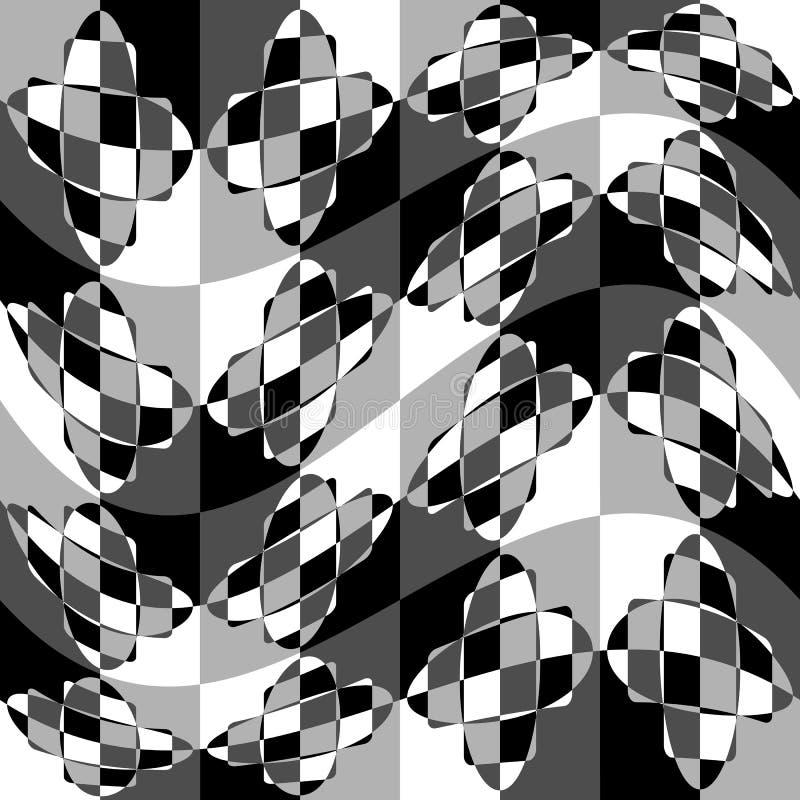 Download Геометрическая картина с пульсацией, волнистым искажением, влиянием искривления гнойничка Иллюстрация вектора - иллюстрации насчитывающей график, влияние: 81810492