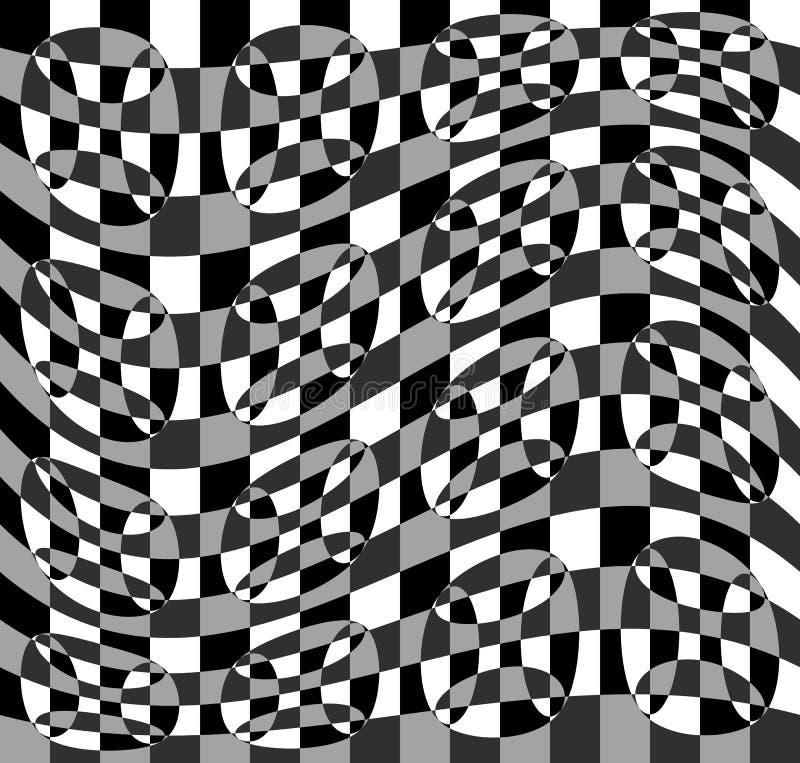 Download Геометрическая картина с пульсацией, волнистым искажением, влиянием искривления гнойничка Иллюстрация вектора - иллюстрации насчитывающей royalty, оптически: 81810493
