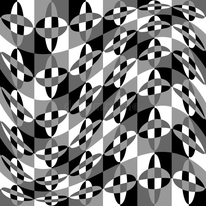 Download Геометрическая картина с пульсацией, волнистым искажением, влиянием искривления гнойничка Иллюстрация вектора - иллюстрации насчитывающей минимально, наконечников: 81810495