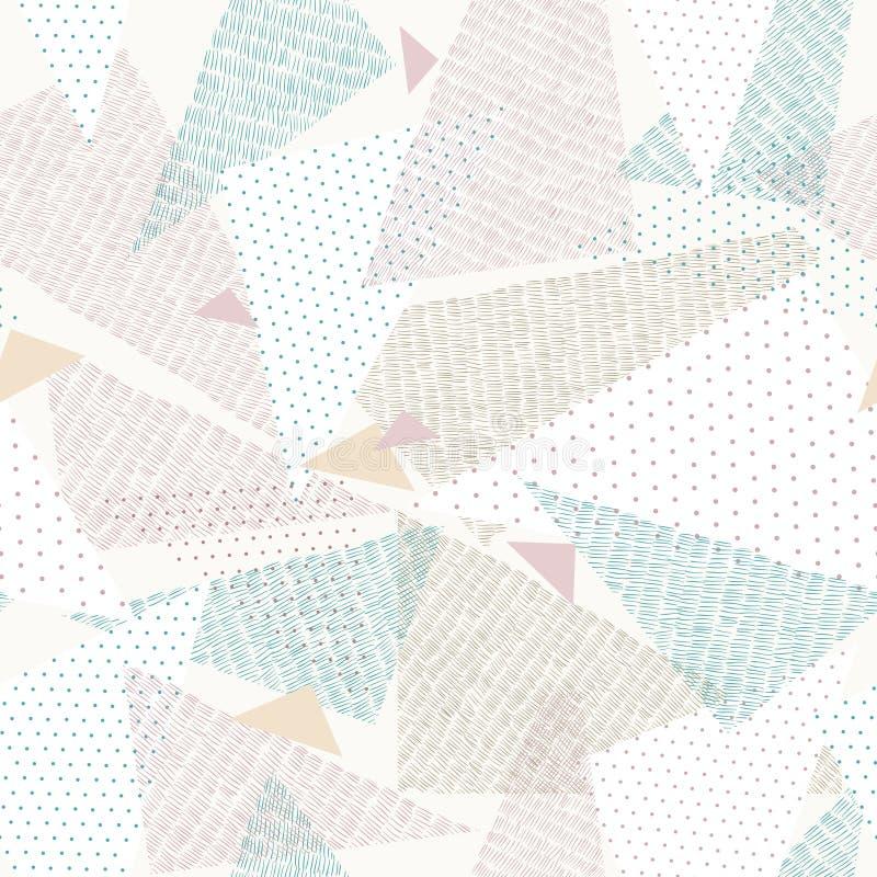 геометрическая картина иллюстрация вектора