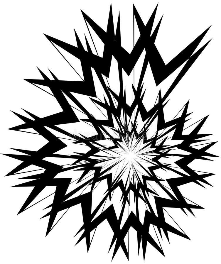 Download Геометрическая круговая спираль Абстрактная угловая, нервная форма в Rotat Иллюстрация вектора - иллюстрации насчитывающей конспектов, линии: 81809203
