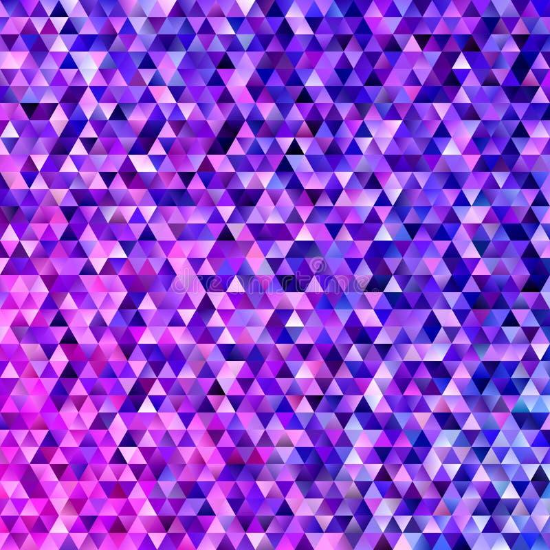 Геометрическая полигональная предпосылка плитки треугольника - современный дизайн градиента иллюстрация штока