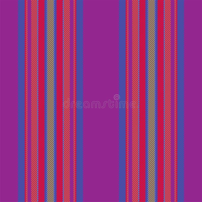Геометрическая предпосылка нашивок Вектор картины нашивки Текстура ткани безшовных обоев striped иллюстрация вектора