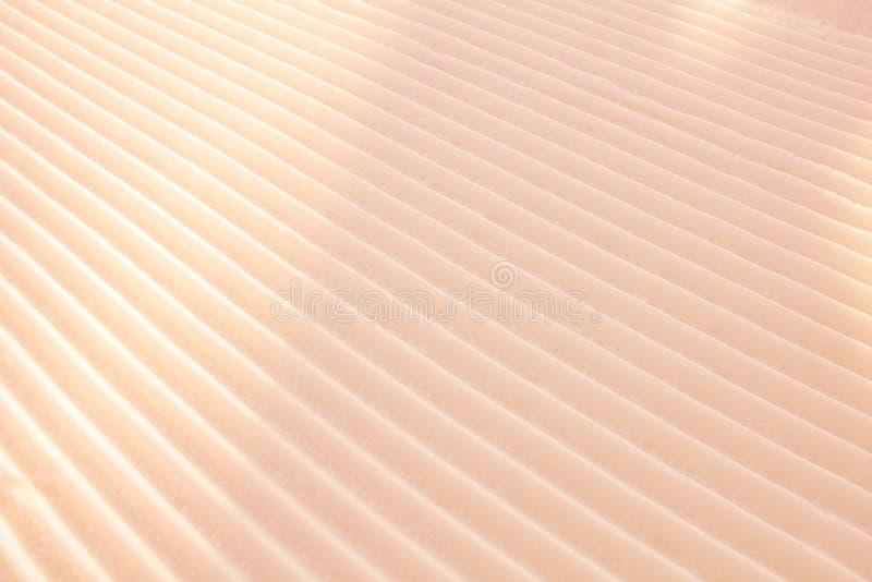 Геометрическая предпосылка светлооранжевой желтой параллели диагонали стоковая фотография