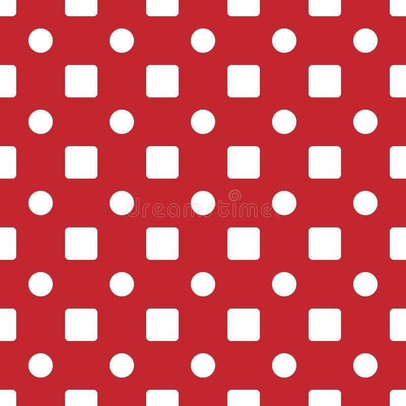 Геометрическая простая безшовная картина График моды Конструкция предпосылки Современная стильная абстрактная текстура Шаблон для бесплатная иллюстрация