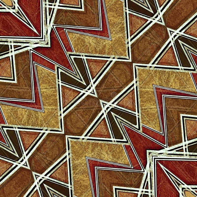 Геометрическая современная картина бесплатная иллюстрация