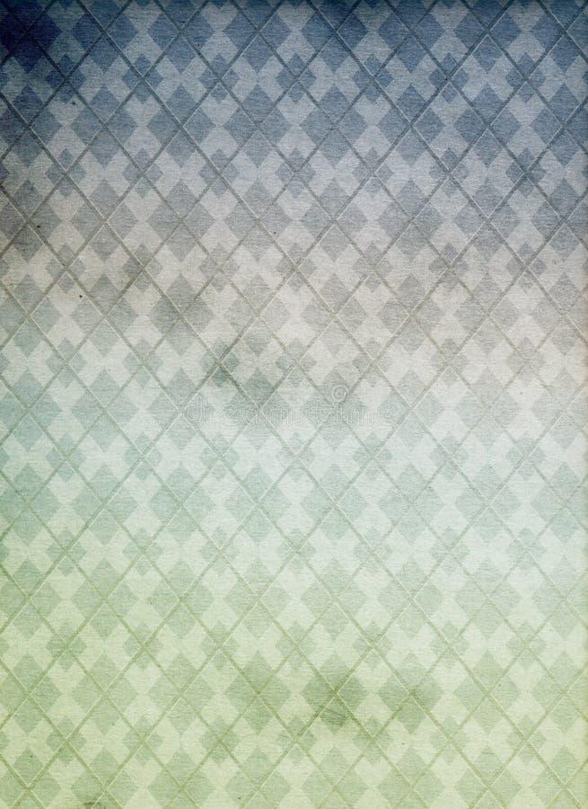 геометрическая старая картина иллюстрация вектора