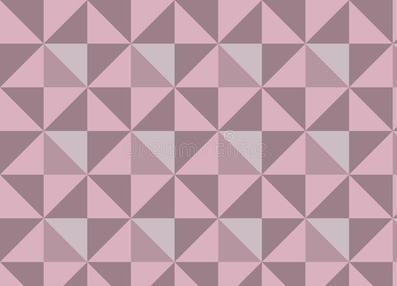 Геометрическая текстура вектора с розовыми и яркими треугольниками иллюстрация вектора