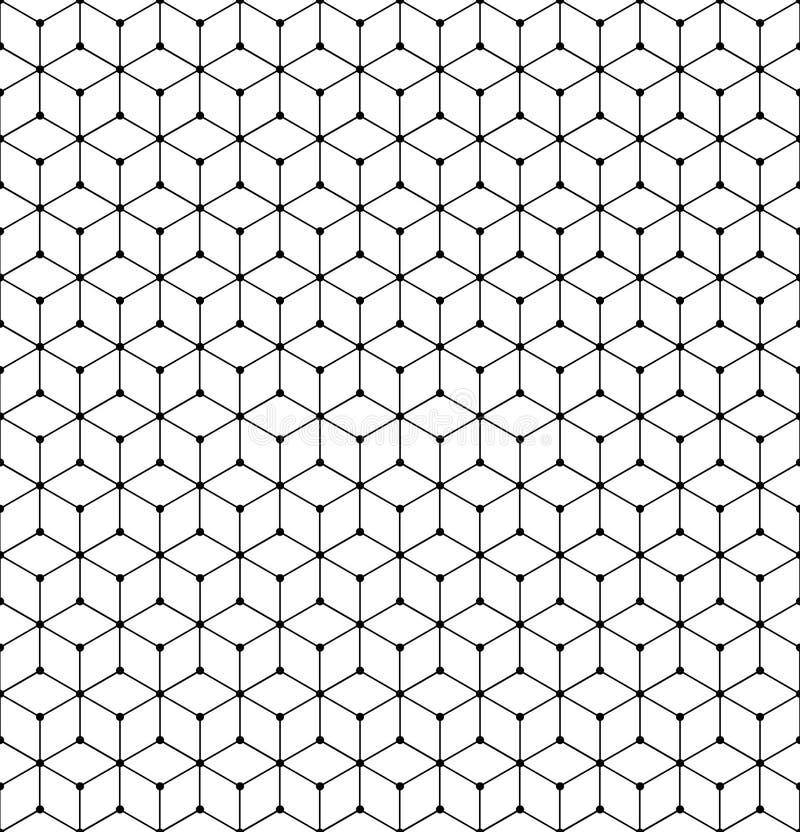 геометрическая текстура решетки картины иллюстрация вектора