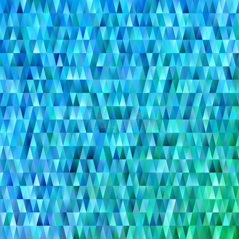 Геометрическая триангулярная предпосылка картины полигона - современная векторная графика градиента с треугольниками в свете - го иллюстрация штока
