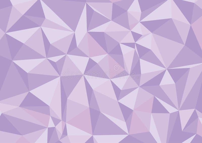 Геометрическая фиолетовая предпосылка пурпурово бесплатная иллюстрация